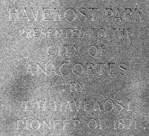Image of Inscription on Havekost Memorial