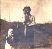 Image of lady and young girl