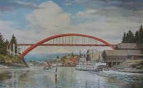 Image of W.T. Preston and Rainbow Bridge poster