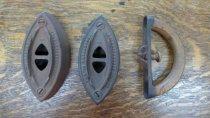 Image of Two flatirons and handle