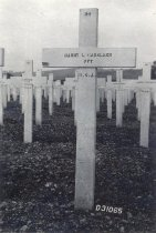 Image of D.XV.006 - Harry Causland grave marker