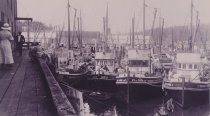 Image of fishing fleet 1937