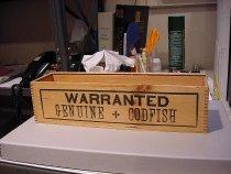 Image of Codfish box