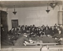 Image of Paul Satko in court, 1940