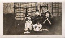Image of Grace, Bill, Hazel and Betty Satko in Alaska, 1942