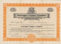 Image of stock certificate