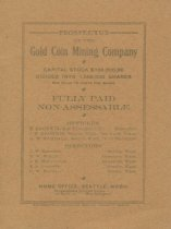 Image of Gold Coin Mining Co. prospectus