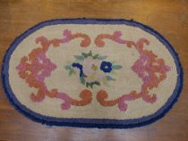 Image of Hand hooked rug