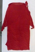 Image of Red dress c. 1930, back