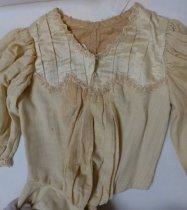 Image of Amy Semar's graduation dress, 1901
