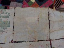 Image of 1883 crazy quilt backdetail