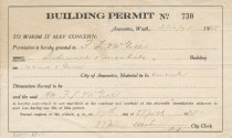 Image of building permit