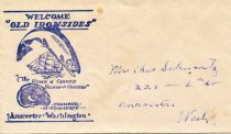 Image of Old Ironsides envelope