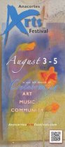 Image of 2012 Arts Festival flyer