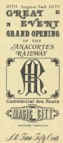 Image of Opening of Anacortes Railway brochure