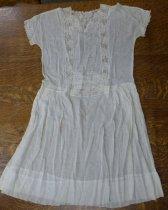 Image of White lawn dress