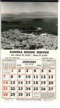 Image of 1962 calendar