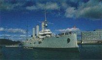 Image of Russian battleship