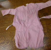 Image of Pink romper front