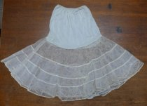 Image of 1950s flounced petticoat