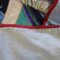 Image of Crazy quilt detail