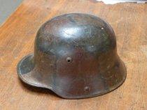 Image of WWII Staff Sergeant helmet