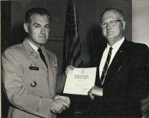 Image of 2009.023.004.008 - Col. Holbrook and Capt. Norm Hamburg