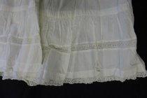 Image of White cotton baby's petticoat c. 1920s