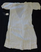 Image of White cotton baby's dress
