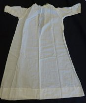 Image of White lawn baby dress