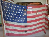 Image of 45 star U.S. flag, c.1896-1908