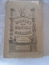 """Image of Paper, ink; """"HARPER'S / NEW / MONTHLY / MAGAZINE / NO. 210 / NOVEMBER 1867"""" - Periodical"""