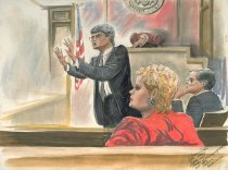 "Image of Eleanor Dixon-Stecker ""Bender at Closing Arguments"""