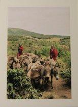 Image of Kerr, Jane Robbins - Maasai Caravan (Tanzania, Africa) (Seeing Red)