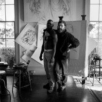 Image of Siegel, Jerry - Portrait of George Dureau
