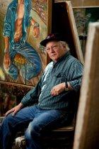 Image of Siegel, Jerry - Portrait of Art Rosenbaum