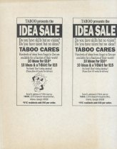 Image of TABOO Idea Sale