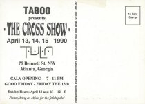 Image of The Cross Show Mailer