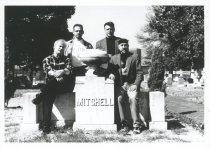 Image of TABOO Member Photo with Mitchell Monument