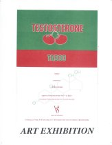 Image of Testosterone Invitation Design