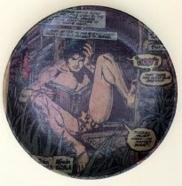Image of Johnny Detroit's Lunch: Plate from Tarzan, Larry Jens Anderson