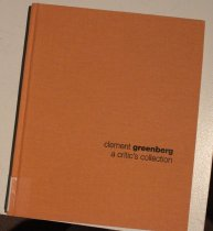 Image of Clement Greenberg: a critic's collection -