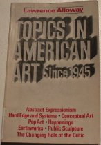 Image of Topics in American art since 1945 -