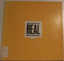 Image of Art of the real; USA, 1949-1968 -