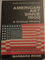 Image of American art since 1900; a critical history -