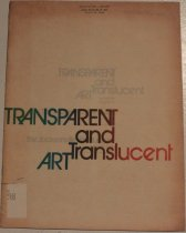 Image of Transparent and translucent art; an exhibition -