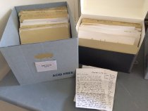 Image of Research, Business Documents, and Correspondence - Jerry Cullum Papers
