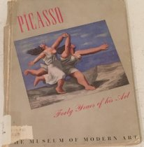 Image of Picasso; forty years of his art, edited by Alfred H. Barr, jr. with two statements by the artist. In collaboration with the Art institute of Chicago. -