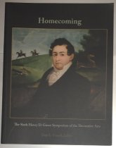 Image of Homecoming The Sixth Henry D. Green Symposium of the Decorative Arts -