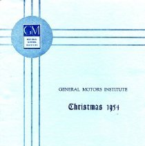 Image of GMI - A compact disc with 17 photographs from the GMI pictorial status report of the new addition and modernization as of Christmas 1954.